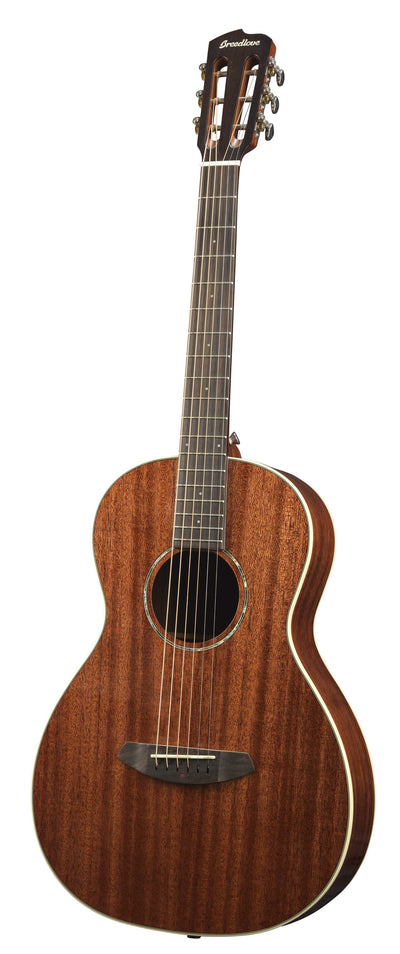Breedlove Pursuit Mahogany Parlor Acoustic Electric Guitar