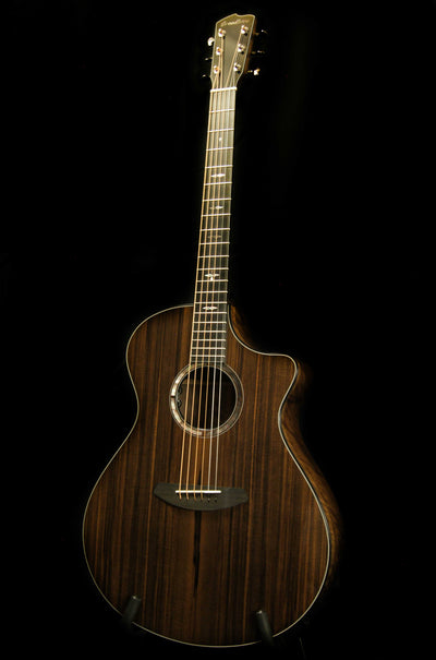 Breedlove Custom Built Concerto CE Ocean Sinker Redwood/Walnut Acoustic Guitar