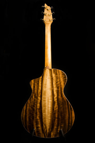 Breedlove Custom Built Port Orford Cedar/Myrtlewood Concert Acoustic Guitar