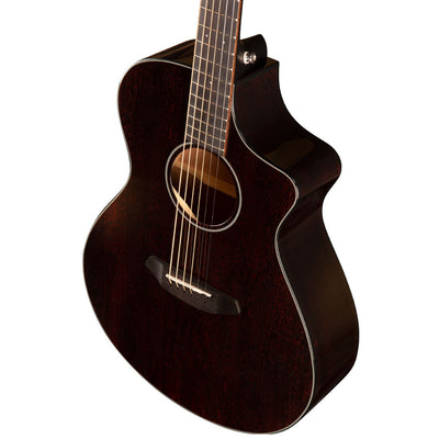 Breedlove Discovery Concert CE Black Widow All Mahogany Limited Edition Acoustic Electric Guitar