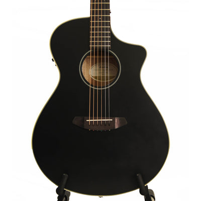 Breedlove Discovery Concert CE Satin Black LTD Acoustic Electric Guitar