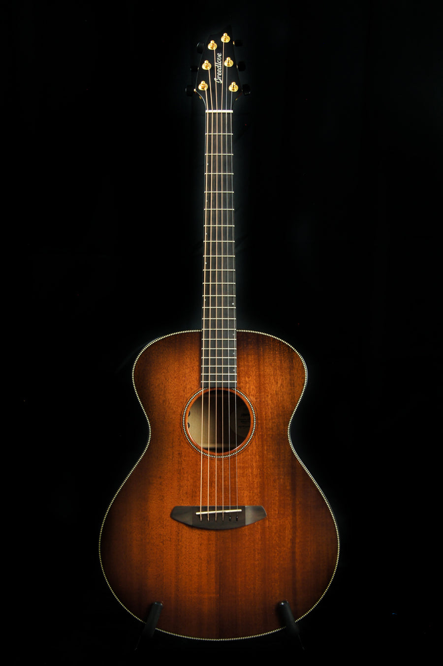 Breedlove Oregon Concert All Myrtlewood Bourbon Acoustic Electric Guitar - Includes Case -FINAL SALE-