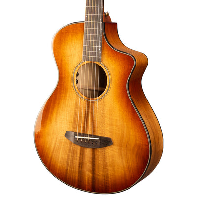Breedlove Oregon Concertina CE Cinnamon Burst All Myrtlewood Acoustic Electric Guitar