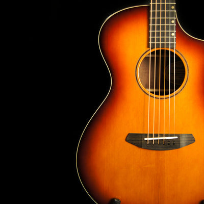 Breedlove Premier Concert Cutaway w/Solid Port Orford Cedar Top and Solid Walnut Back and Sides in Cognac Burst