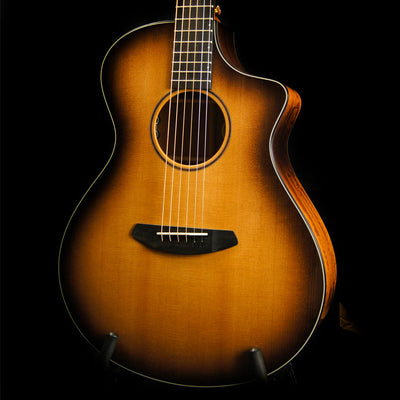 Breedlove Premier Concert CE Limited Run w/Solid Sitka Spruce Top and Figured Mahogany Back and Sides in Walnut Burst
