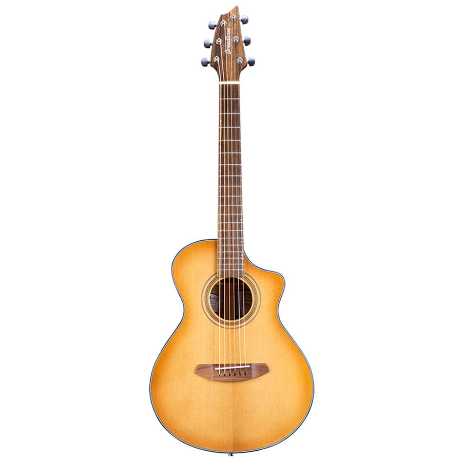 Breedlove Organic Series Signature Companion CE All Solid Torrefied European/African Mahogany Acoustic Electric Guitar
