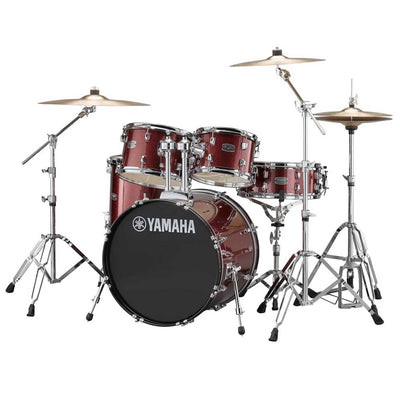 "Yamaha RYDEEN 5-Piece Acoustic Drum Set w/ 20"" Bass Drum (6 Colors Available)"