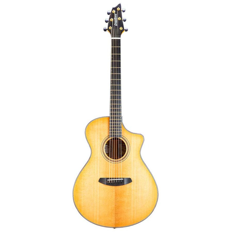 Breedlove Organic Series Artista Concert CE All Solid Torrefied European Spruce/Myrtlewood Acoustic Electric Guitar