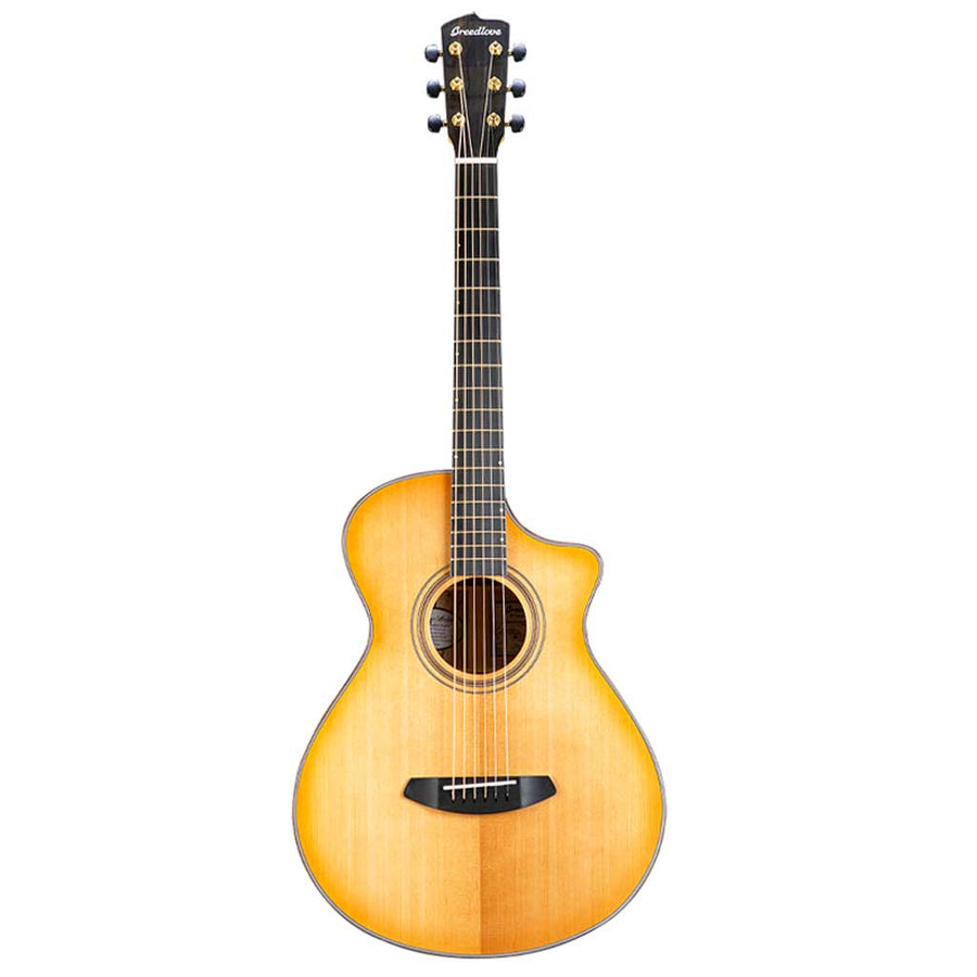 Breedlove Organic Series Artista Concertina CE All Solid Torrefied European Spruce/Myrtlewood Acoustic Electric Guitar