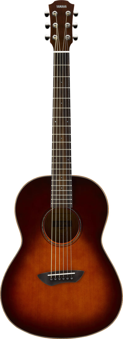Yamaha CSF3M Parlor Acoustic Electric Guitar Tobacco Brown Sunburst