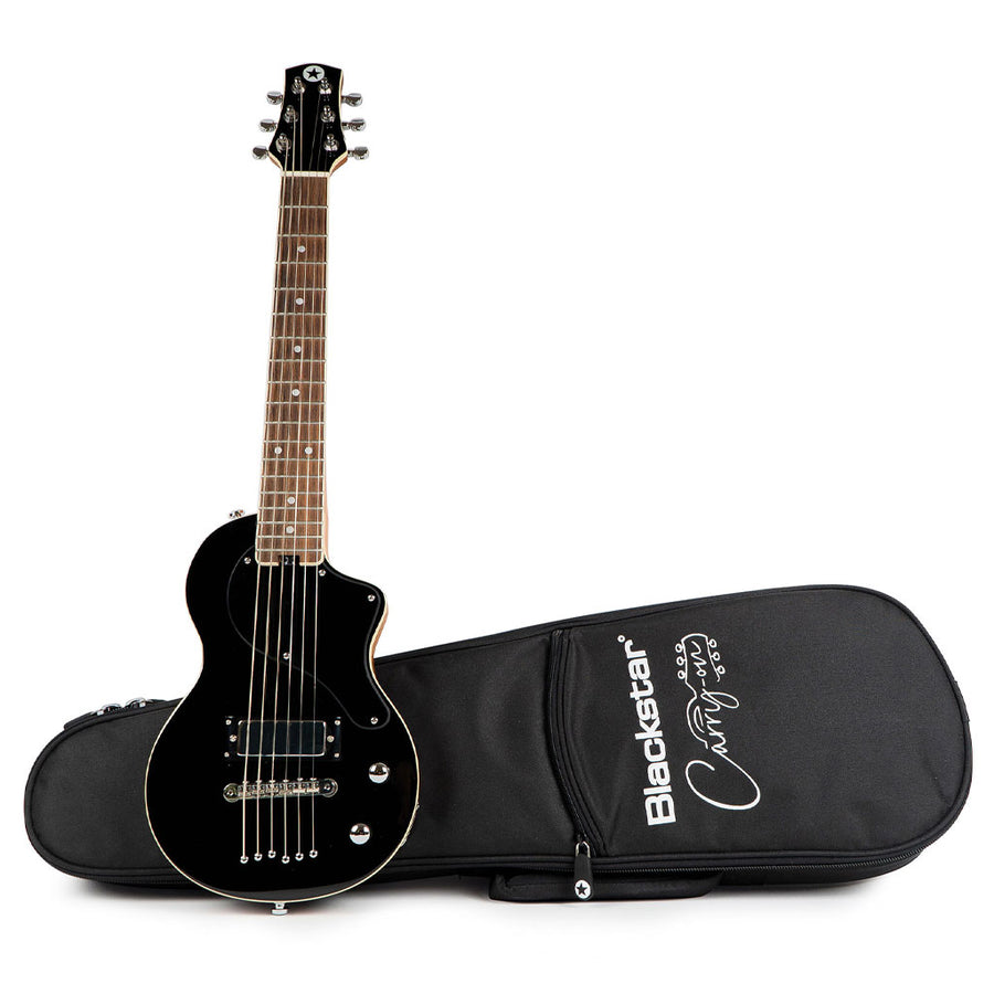 Blackstar Carry-on Travel Electric Guitar in Black