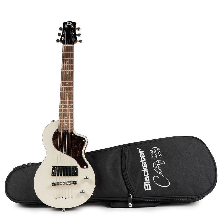 Blackstar Carry-on Travel Electric Guitar in White