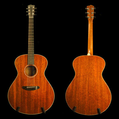 Breedlove Frontier Concerto All Solid Mahogany Acoustic Electric Guitar - Includes Case