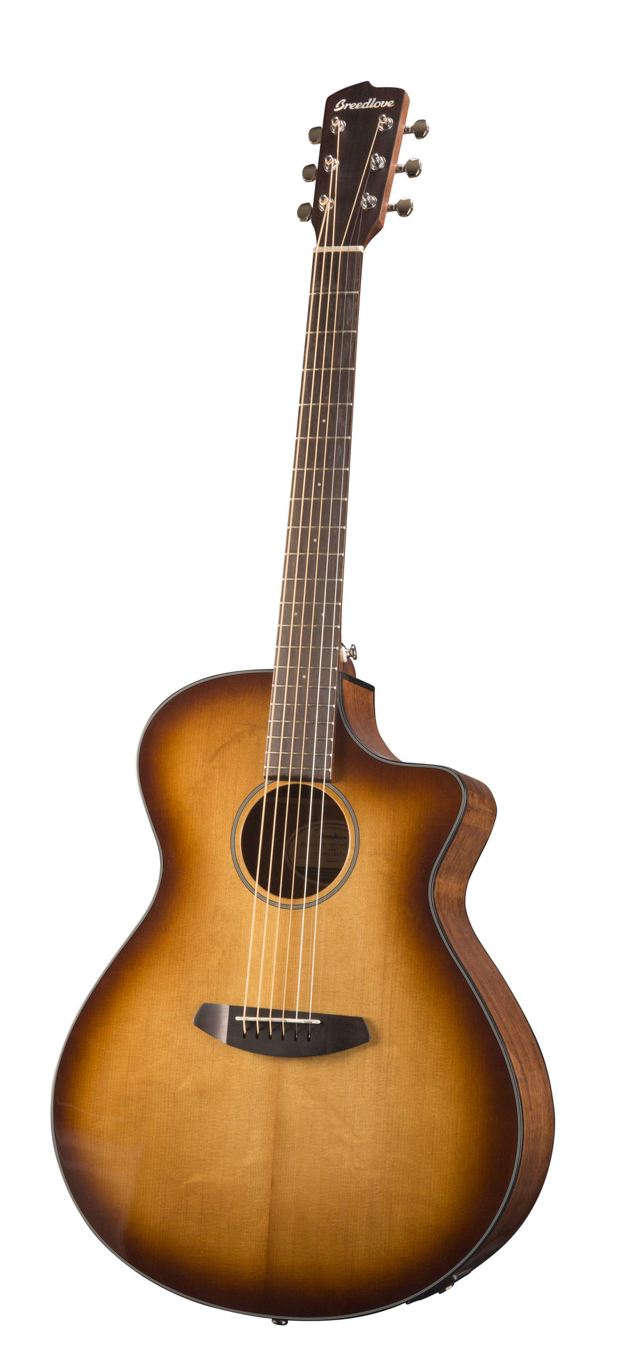 Breedlove Discovery Concerto CE Sunburst Acoustic Electric Guitar
