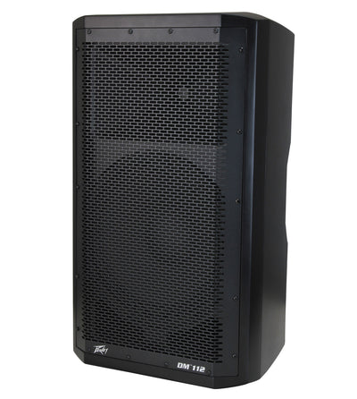 "Peavey 12"" Dark Matter DM112 Speaker Enclosure w/ DSP"