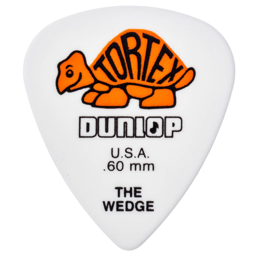 Dunlop Tortex 'The Wedge' Guitar Picks 12 Pack in .50mm