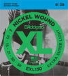 D'Addario EXL130 Nickel Wound Extra Super Light Electric Guitar Strings 8-38