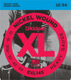 D'Addario EXL130 Nickel Wound Heavy Gauge Electric Guitar Strings 12-54