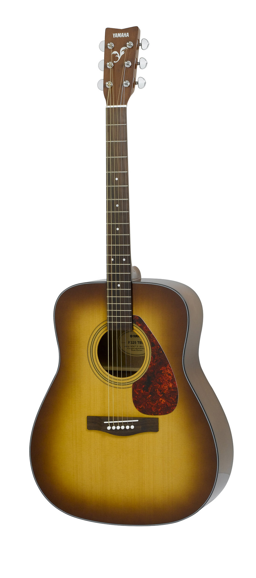 Yamaha F325DTBS Dreadnought Acoustic Guitar Bundle