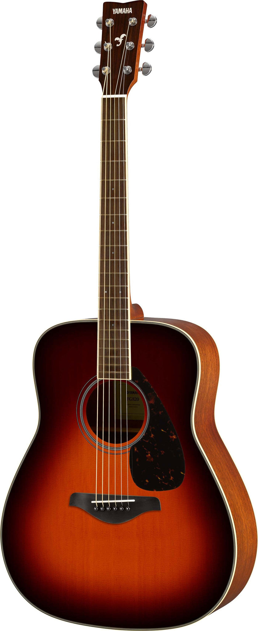 Yamaha FG820BS Dreadnought Acoustic Guitar Bundle