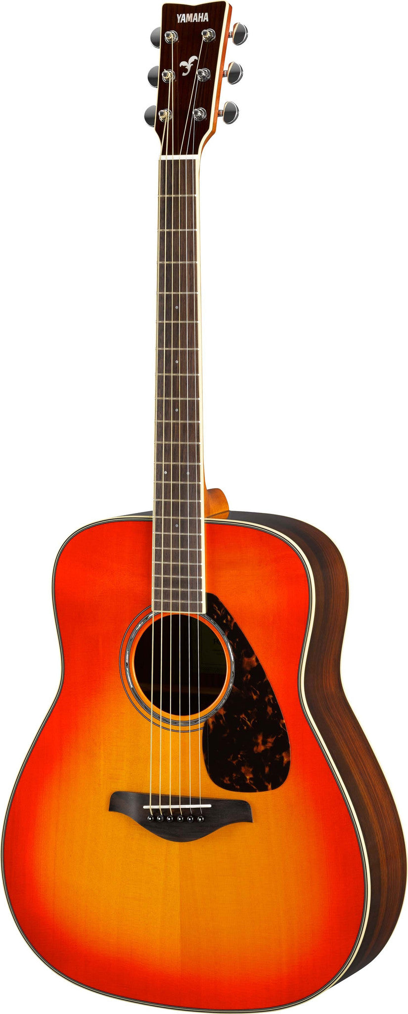 Yamaha FG830 Autumn Burst Dreadnought Acoustic Guitar Bundle