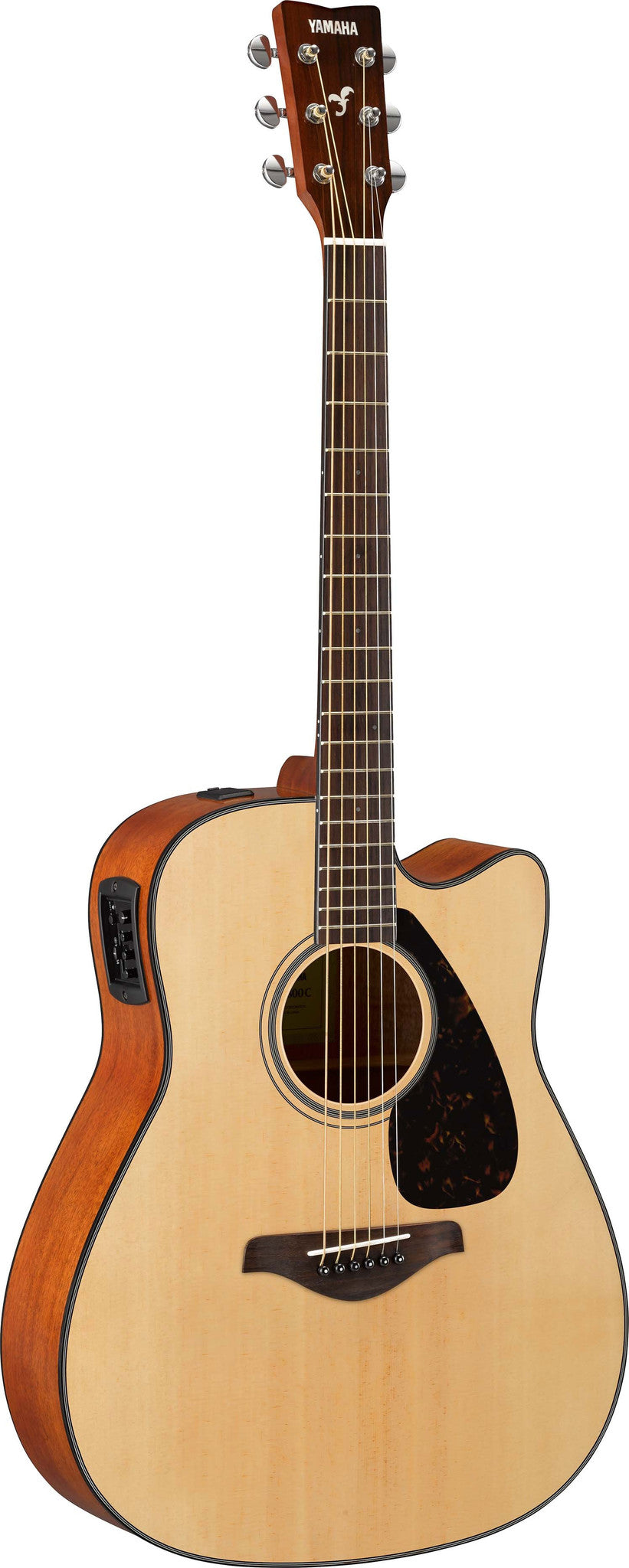 Yamaha FGX800C Acoustic Electric Dreadnought Guitar Bundle