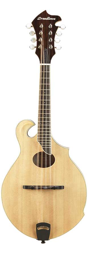 Breedlove Crossover FO  Mandolin - F Body w/ Oval Hole in Natural