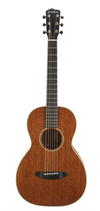 Breedlove Frontier Parlor Solid Mahogany Acoustic Electric Guitar