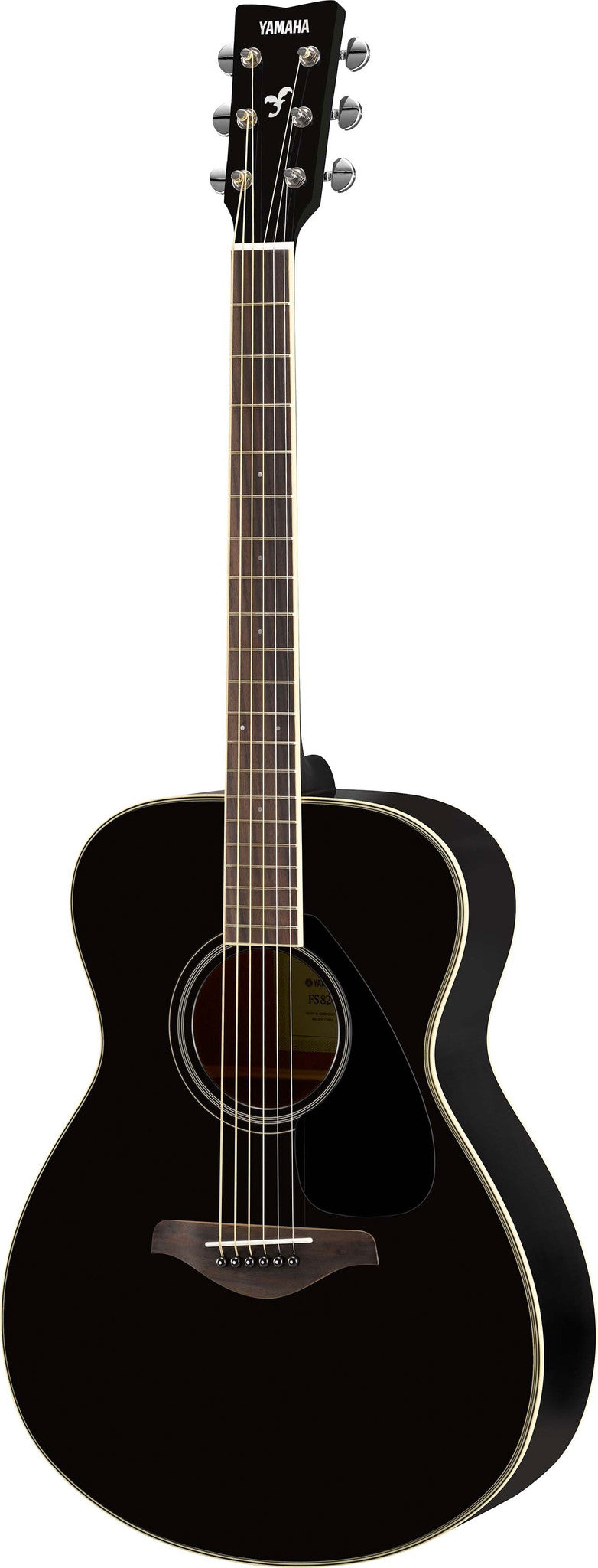 Yamaha FS820BL Small Body Acoustic Guitar Bundle