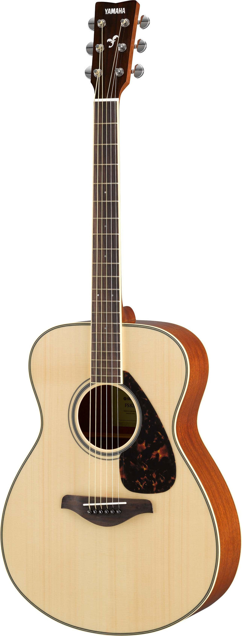 Yamaha FS820 Small Body Acoustic Guitar Bundle