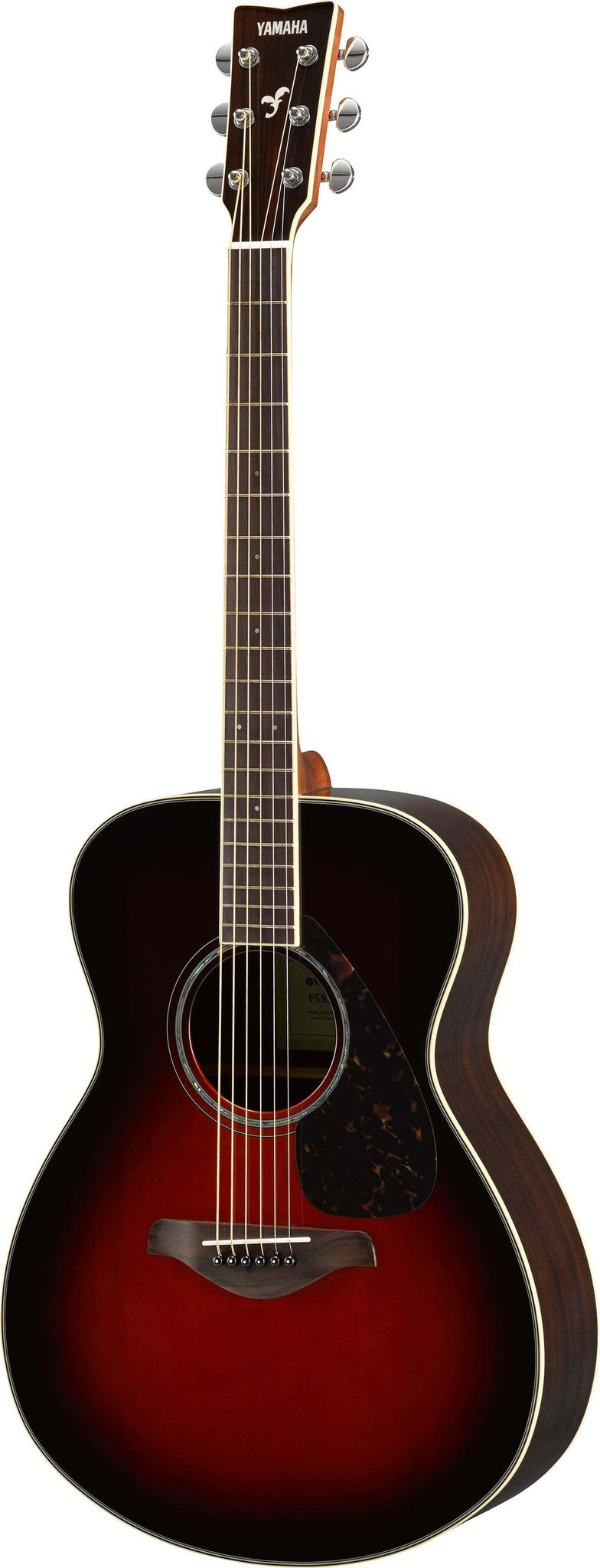 Yamaha FS830TBS Small Body Acoustic Guitar Bundle