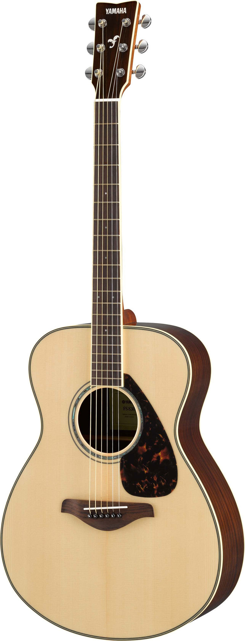 Yamaha FS830 Small Body Acoustic Guitar Bundle