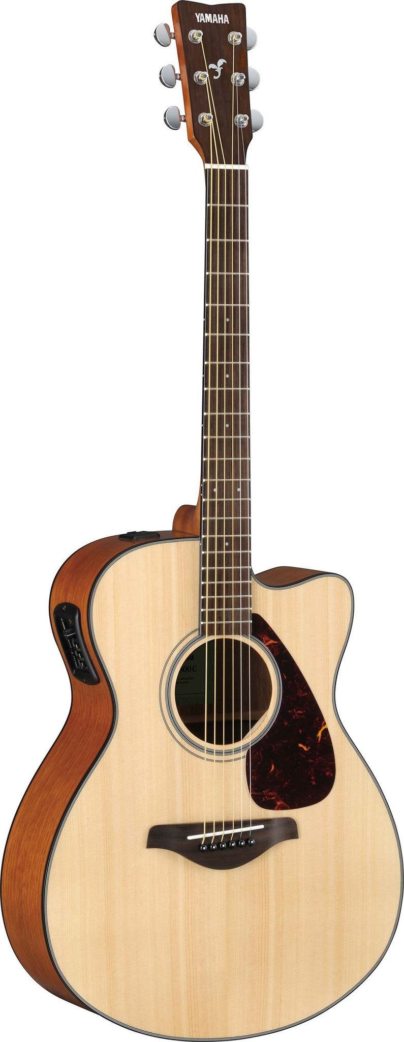 Yamaha FSX800C Small Body Acoustic Electric Guitar