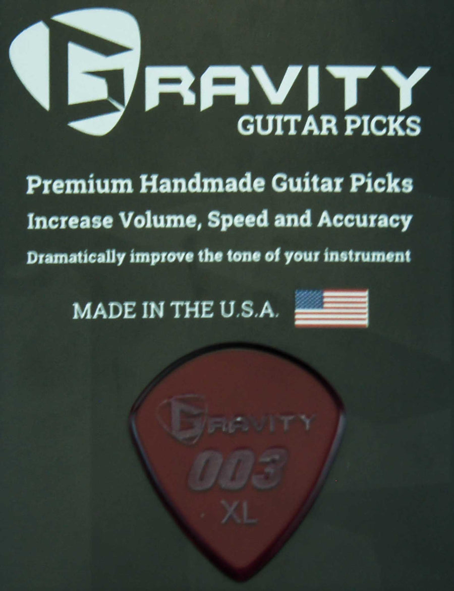 Gravity Picks 003 Jazz - 1.5 mm X-Large Polished