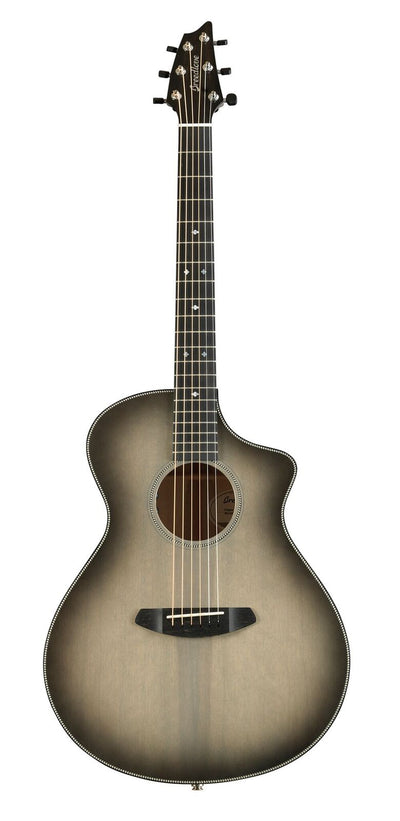 "Breedlove USA Oregon Concert ""Ghost"" Limited Edition Acoustic Electric Guitar"