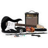 Yamaha GIGMAKEREGBLACK Black GigMaker Electric Guitar Pack