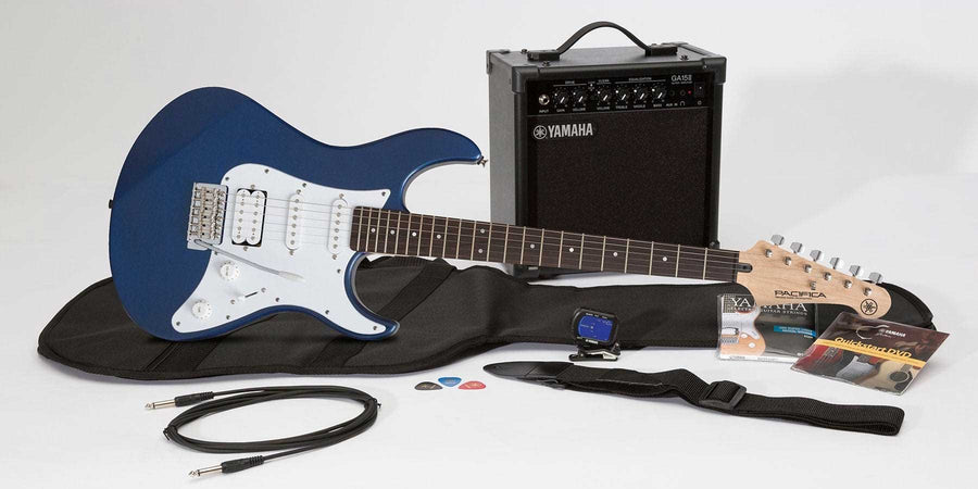Yamaha Gigmaker Electric Guitar Pack Blue