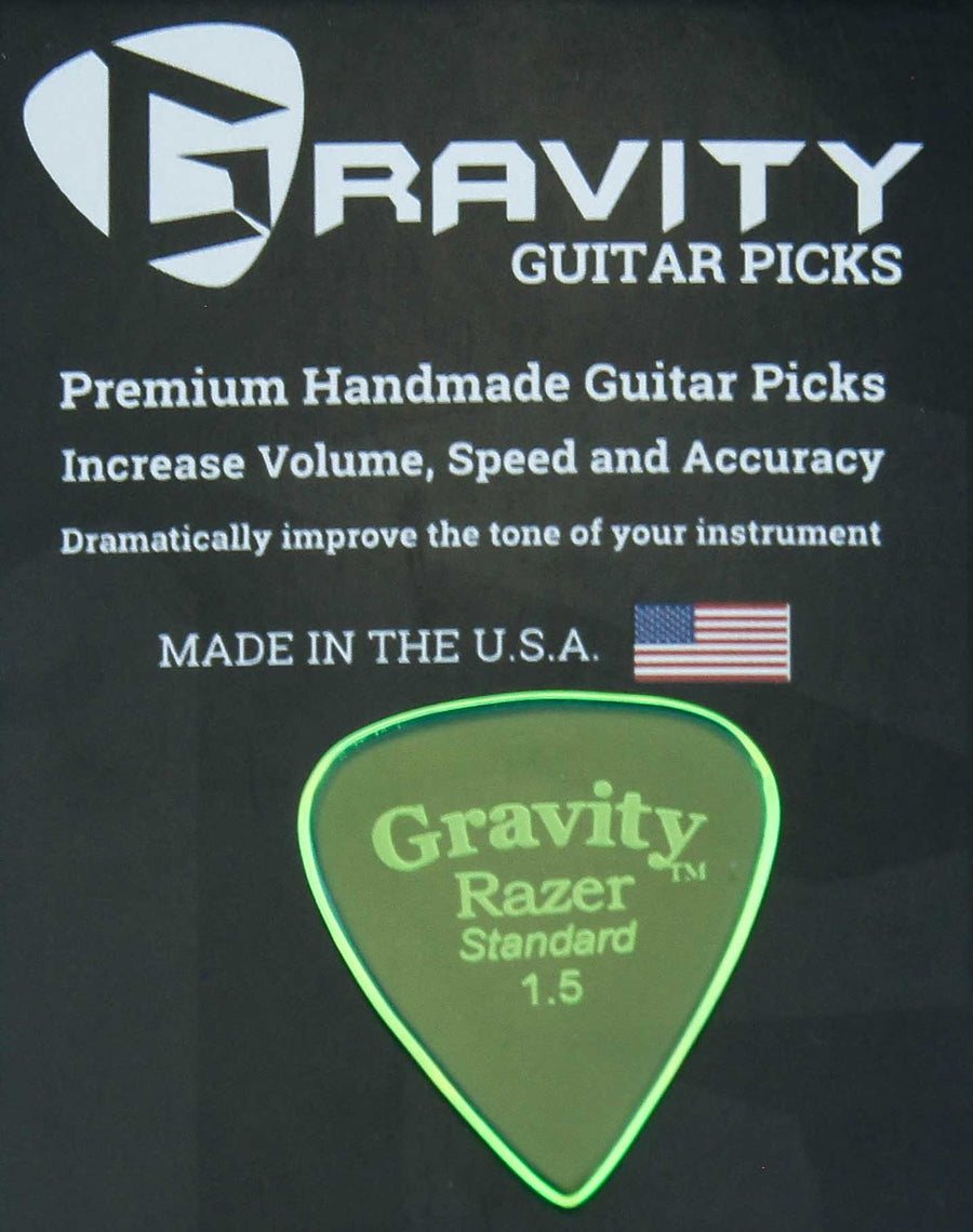 Gravity Picks Razer - 1.5 Standard Polished