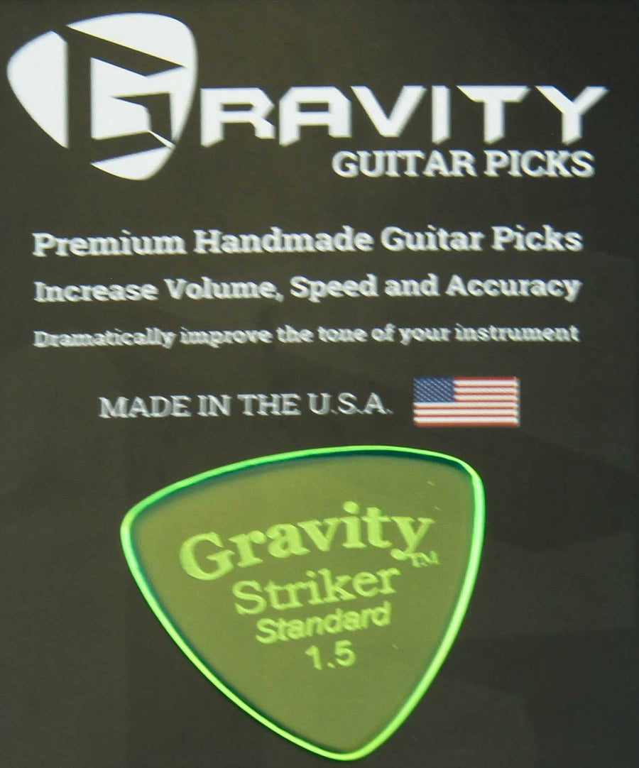 Gravity Picks Striker - 1.5 mm Standard Polished