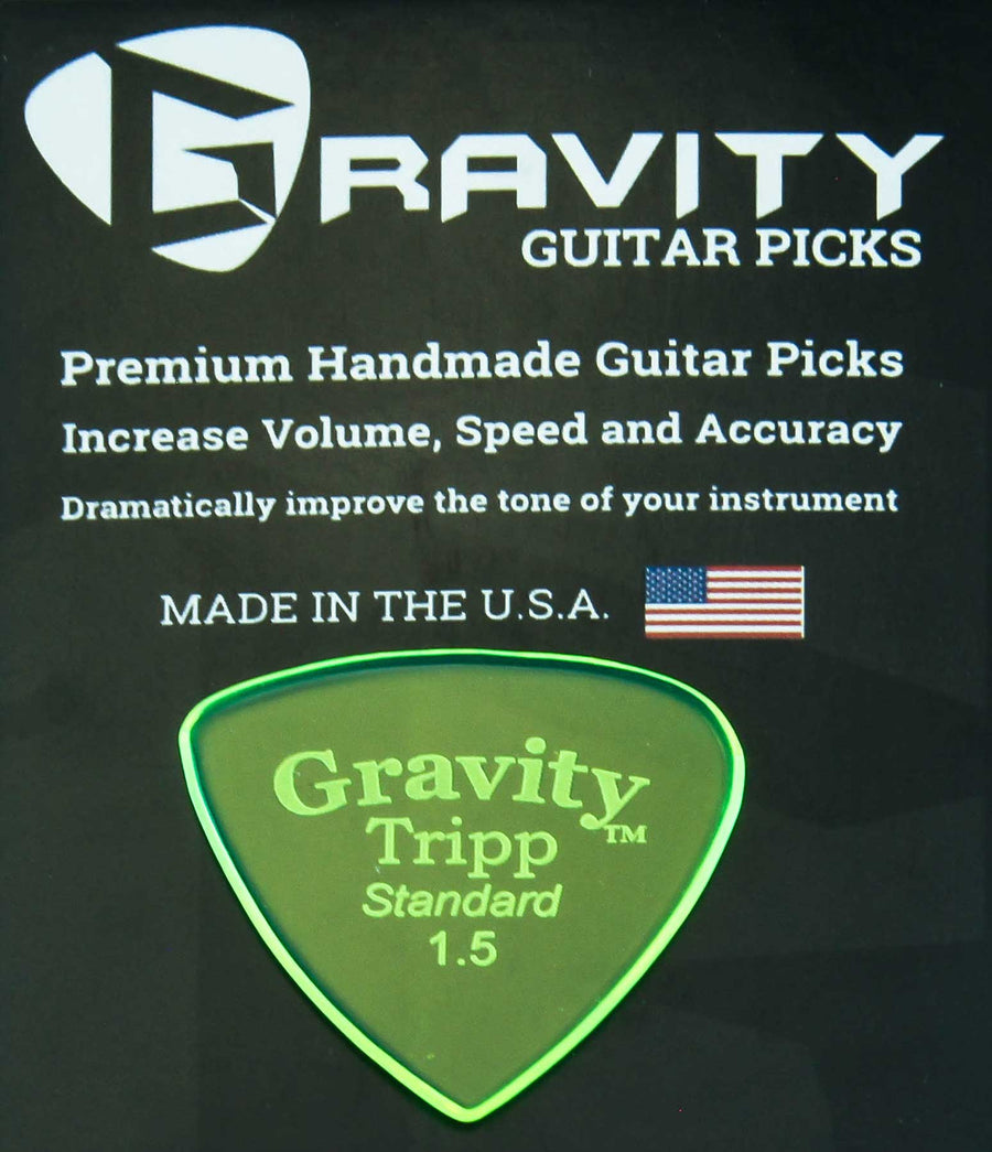 Gravity Picks Tripp - 1.5mm Standard Polished