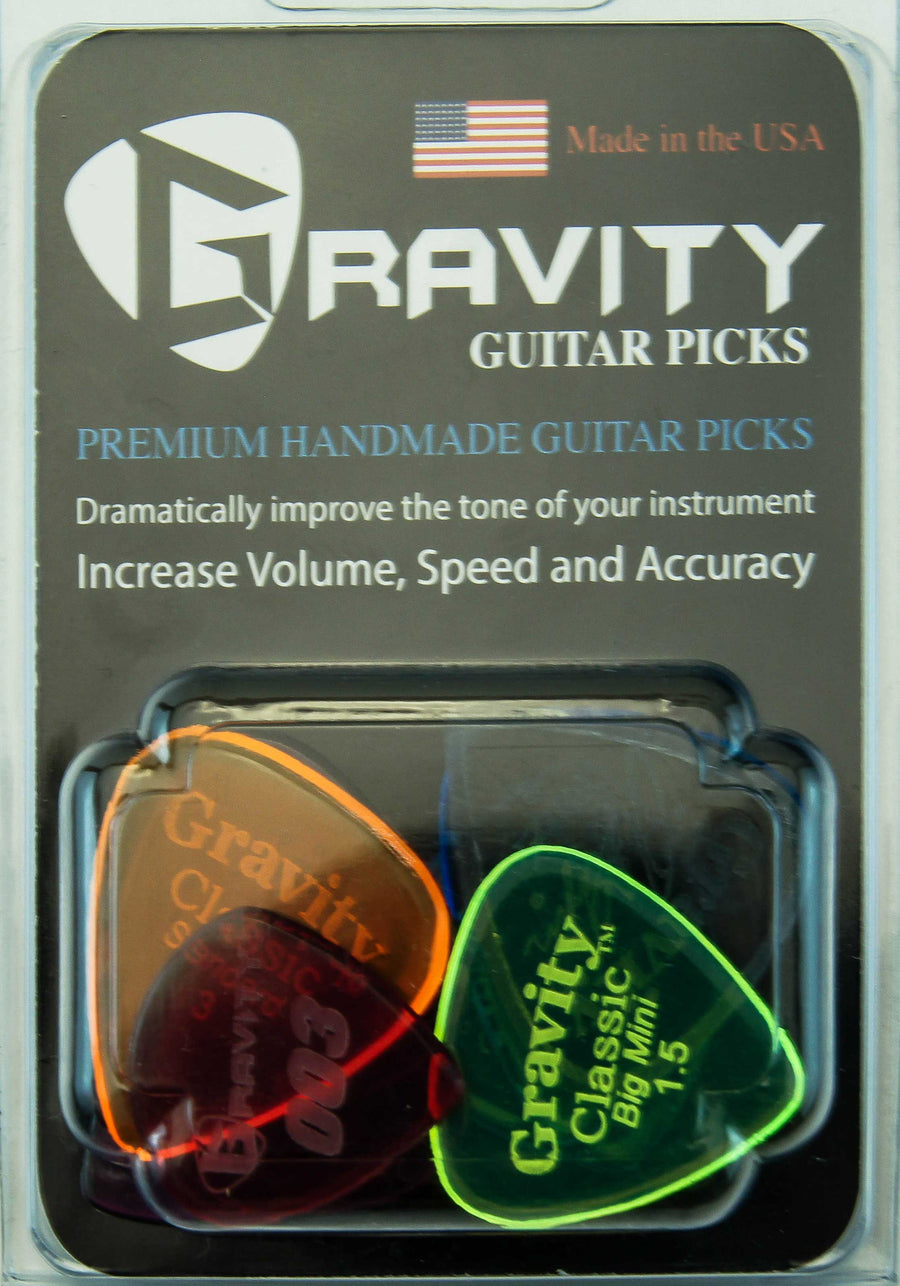 Gravity Picks Assorted Variety Pack