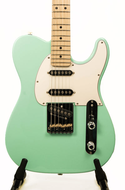 "G&L USA ASAT Classic ""S"" Electric Guitar - Surf Green"