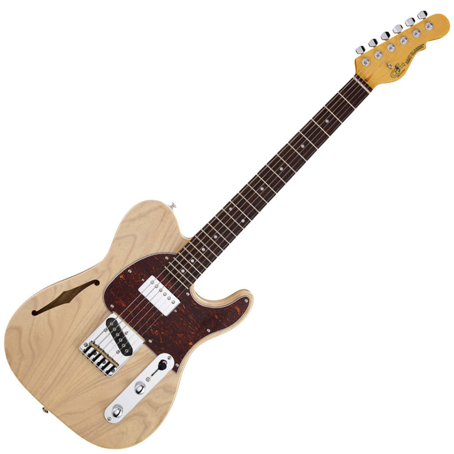 G&L Tribute Series ASAT Classic Bluesboy Semi-Hollow -Blonde