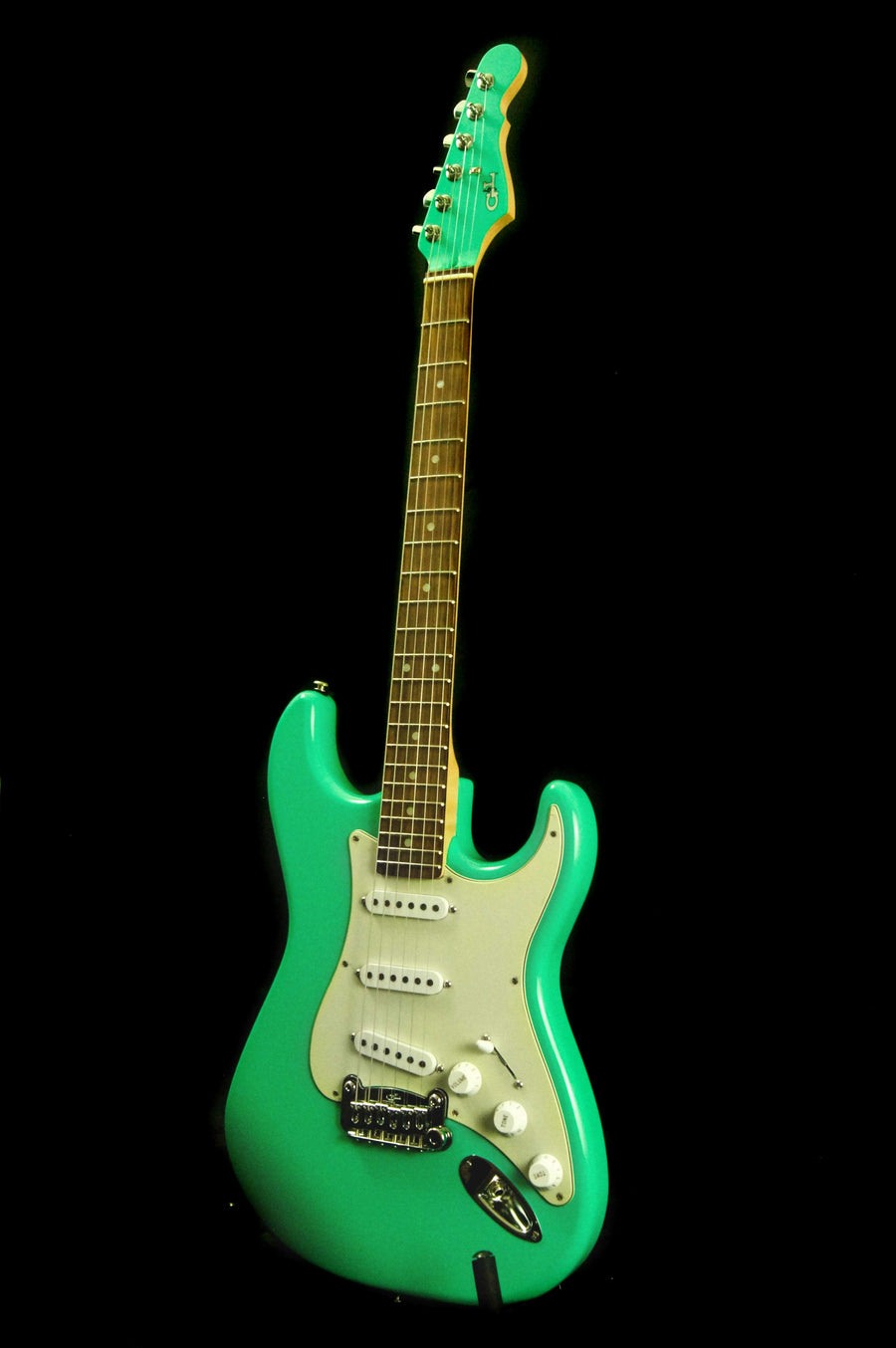 "G&L USA Legacy Electric Guitar ""Belair Green"""