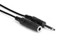 "Hosa 25' 1/4"" TRS to 1/4"" TRS Headphone Extension Cable HPE-325"