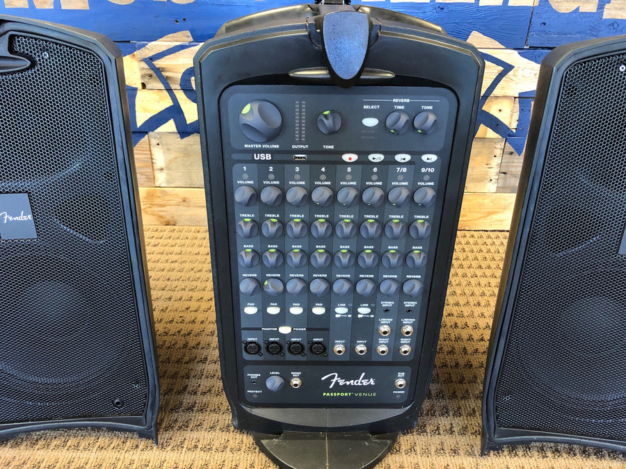 Used Fender Passport Venue Portable PA System
