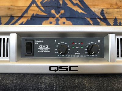 Used QSC GX3 Power Amplifier