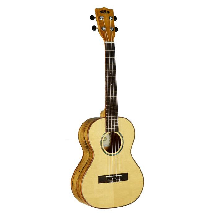 Kala KA-FMTG Solid Spruce Top Flame Maple Tenor Ukulele