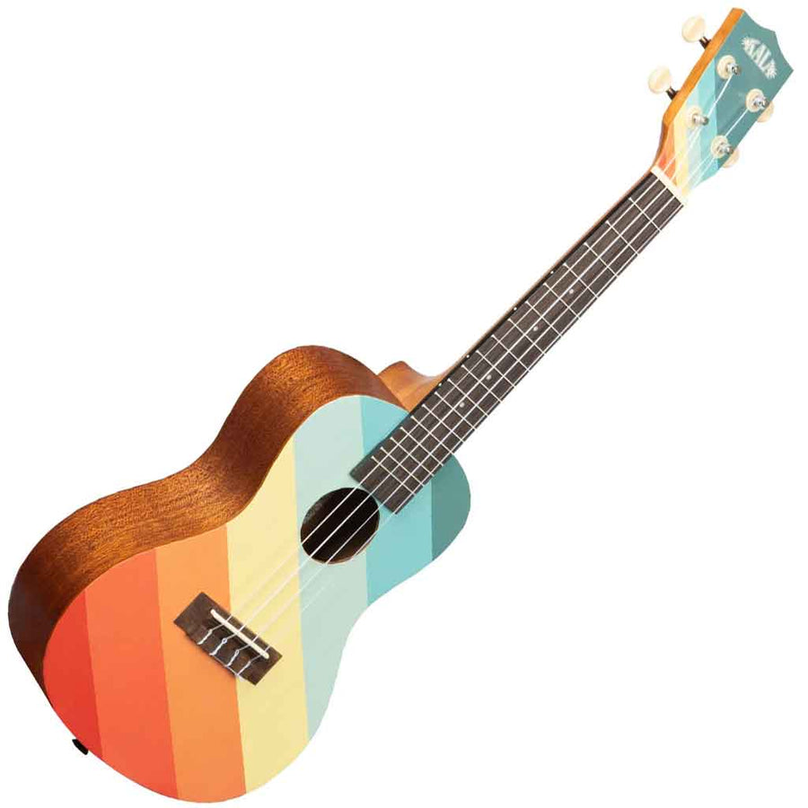 Kala Surf Series Concert Ukulele with Far Out Design