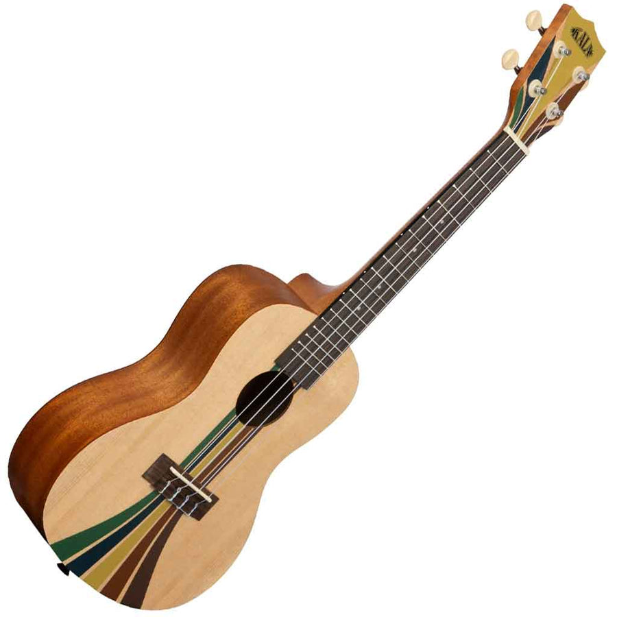 Kala Surf Series Concert Ukulele with Riptide Design